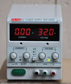 REGULATED VARIABLE LINEAR DC POWER SUPPLY GPS-3050D 30V 5A