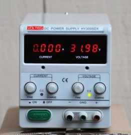 Regulated Variable Linear DC POWER SUPPLY HY3005DX 30V 5A 1mA Resolution