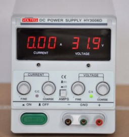 REGULATED VARIABLE LINEAR DC POWER SUPPLY HY3006D 30V 6A New Model