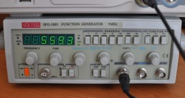 5 MHz Function Generator / Frequency Counter SFG-1005