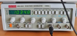 10 MHz Function Generator / Frequency Counter SFG-1010