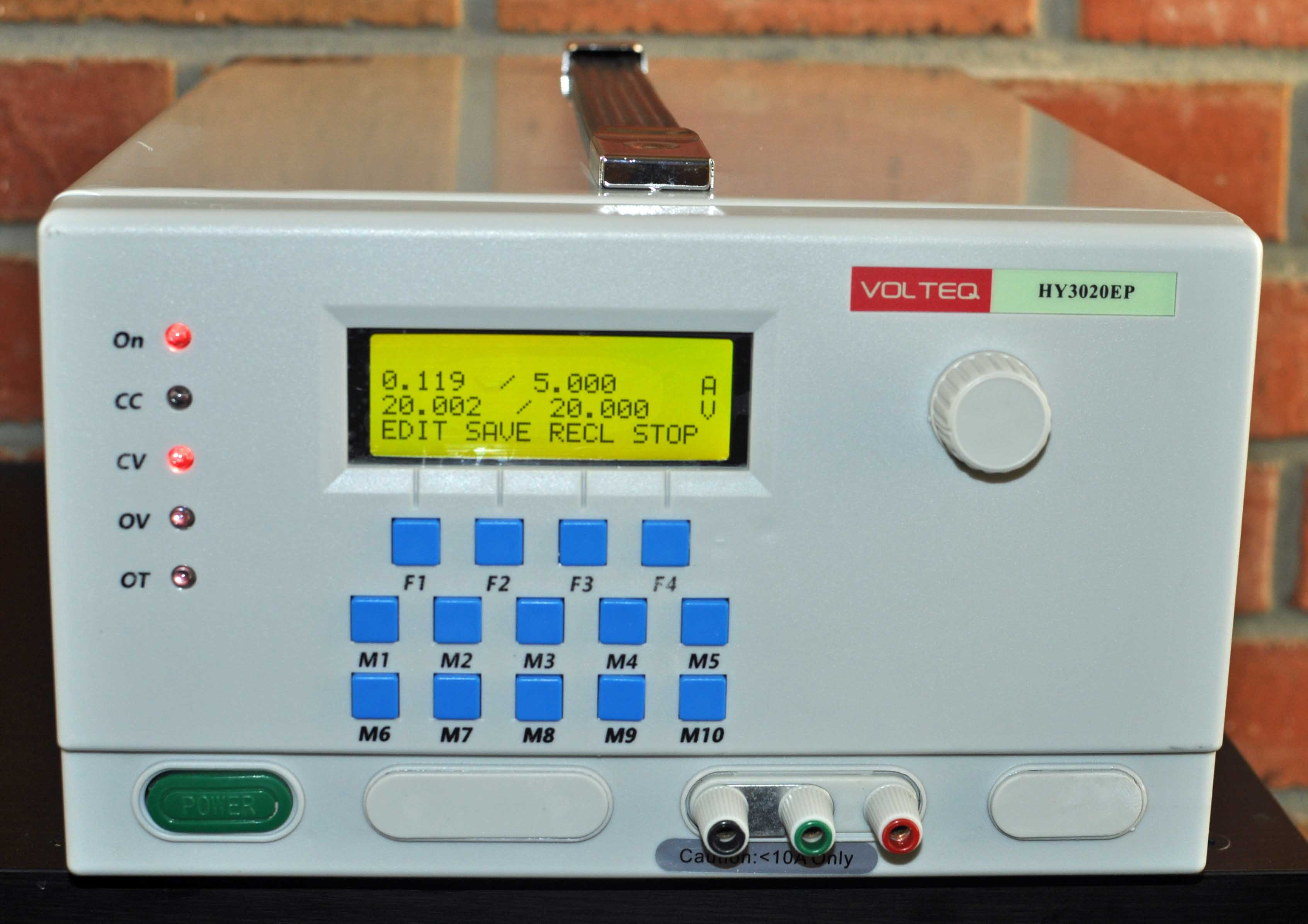 Programmable DC Power Supply HY3020EP 0-30V 0-20A - Volteq